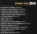 2014 Summer Tour!